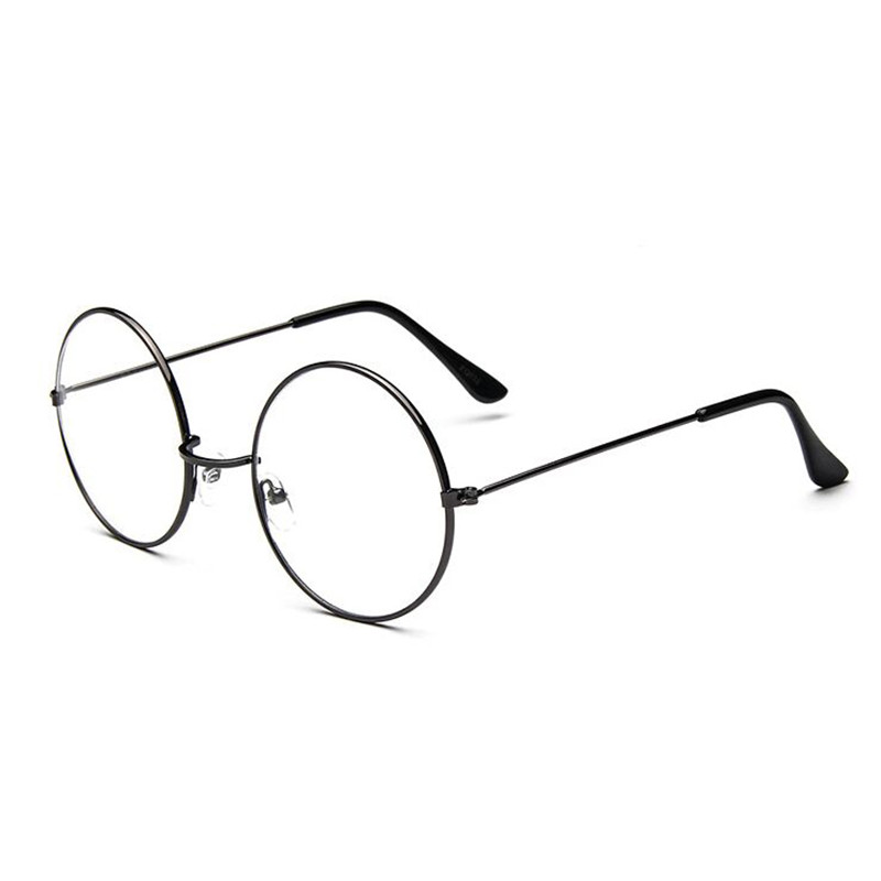 2018 Retro Round Spectacle Glasses Frames For Men Harry Potter Glasses With Clear Glass Women Myopia Optical Transparent Glasses
