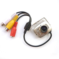 Mini Wired Audio Security Surveillance CCTV Camera 420TVL 600TVL Color Night Vision Infrared Video Indoor 3