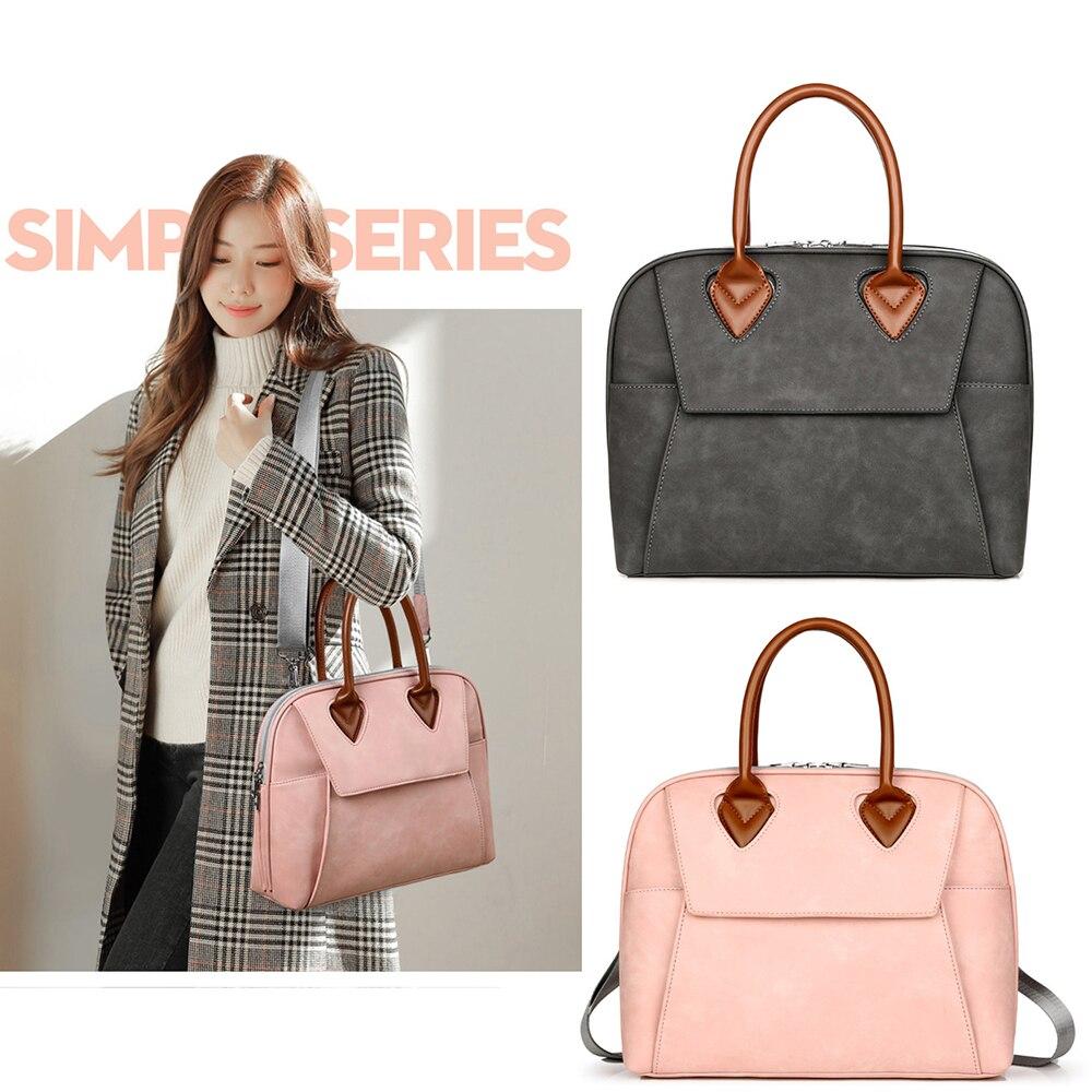 2019 New Fashion Designer Handbags For Women Large Laptop Shoulder Bags Tote Satchel Work Bags 13.3,14,15.6 Inch For MacBook Pro