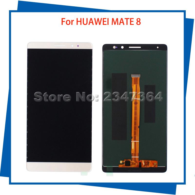 For HUAWEI Ascend Mate 8 MT8 LCD Display Touch Screen Mobile Phone LCDs Free Shipping for huawei mate 7 lcd display touch screen original assembly replacement for ascend mate 7 phone free shipping in stock