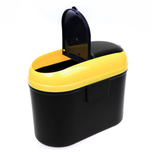 Мини Автомобильный подвесной чехол для мусора, держатель для хранения, ящик для мусора