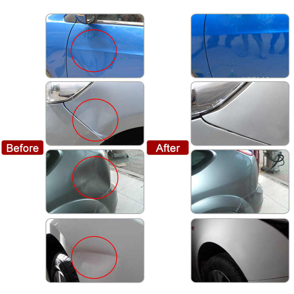 Pdr Gereedschappen Verveloos Dent Repair Tools Dent Repair Kit Car Dent Puller Met Lijm Puller Tabs Verwijderen Kits Voor Voertuig auto Auto