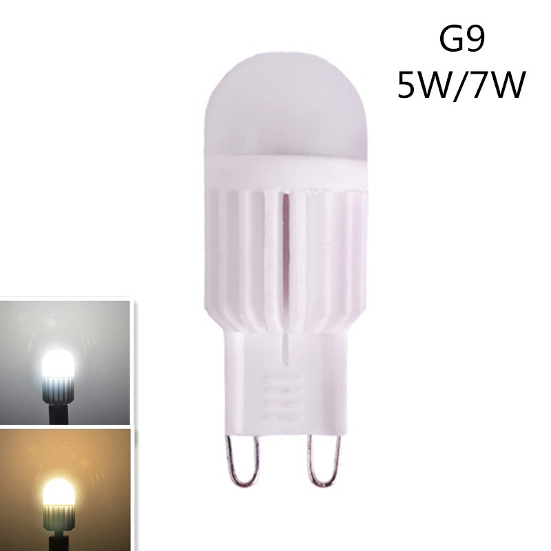 Light Bulbs 2017 New Mini G9 Led Lamp 220v 230v 240v 5w 14leds 7w 22lds Corn Bulbs Smd2835 Lamparas Chandelier Spot Light More Brighter! Led Bulbs & Tubes