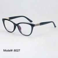 Magia spectcles Jing 8027 atacado de alta qualidade de acetato de armações miopia óculos óculos