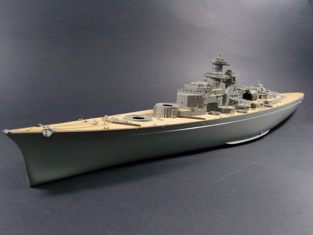 ARTWOXs 05040 German battleship Bismarck wood deck AW10081