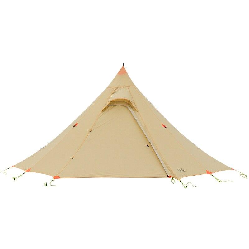 ASTAGEAR finst snow 2 side 20D silnylon ultraléger ASTA pyramide extérieur 1/2 personne 2 couche 3 saisons camping tente - 3