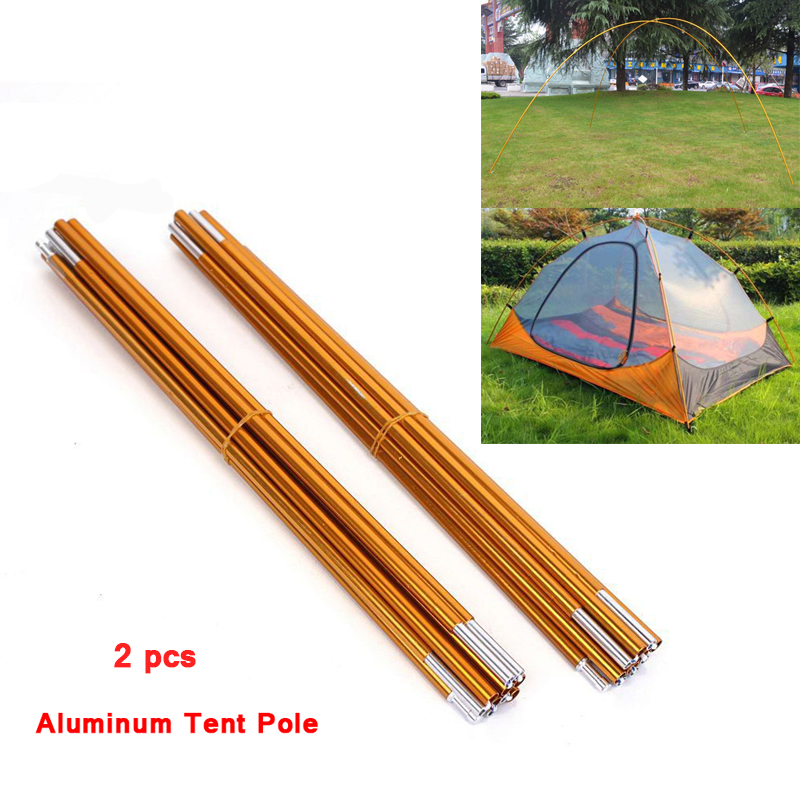 Free Shipping 2016 New Arrival Outdoor Camping Tent Aluminum Pole Rod For Tent Fitting Short Supporting