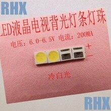 Mantenimiento LED TV LCD de retroiluminación led 3030 SMD 6 V 200MA fuente de luz blanca Fría