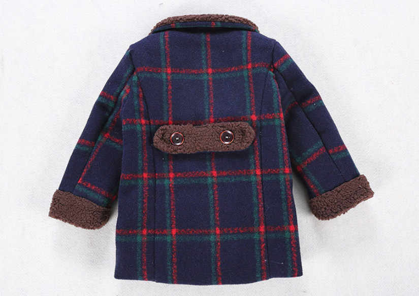 322656f4e ... New Children's Wear For Autumn and Winter Baby Boys Plaid Fashion  Woolen Coat Kids Jacket Boy