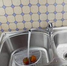 E_pak Chrome 8393/11 torneira Cozinha одно отверстие на бортике Латунь смесители краны torneira поворотный кран кухня