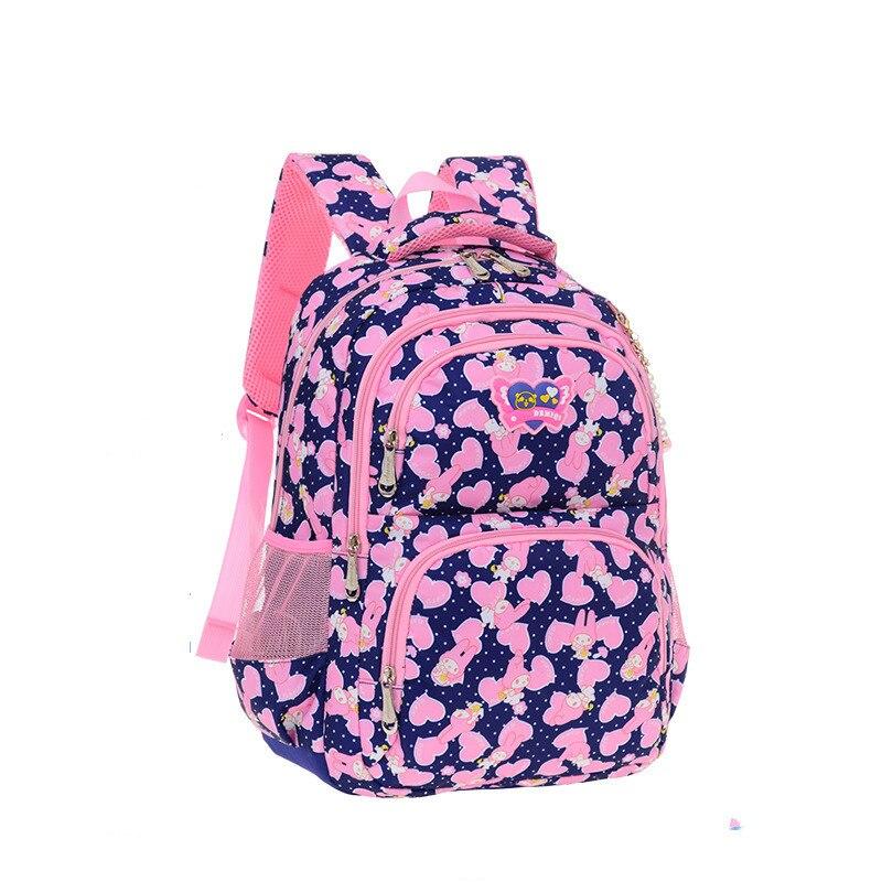 Детские школьные сумки для девочек Водонепроницаемый печати рюкзак дети школьный сумки н ...