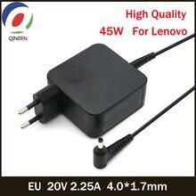 ЕС 20 в 2.25A 45 Вт 4,0*1,7 мм адаптер переменного тока зарядное устройство квадратный питание для lenovo Йога 710-13 адаптер портативный источник питания Plug