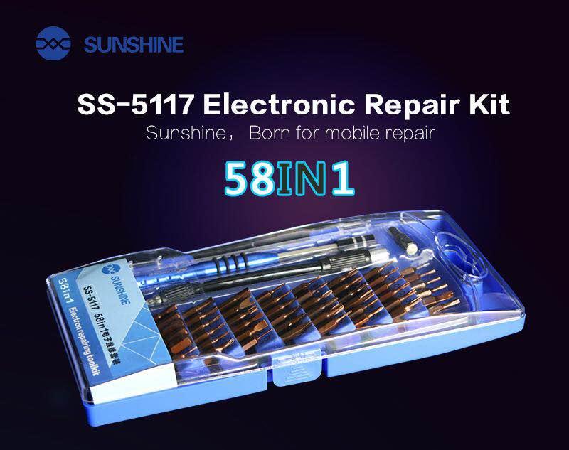 58 em 1 Kit de Ferramentas de chave de Fenda de Precisão Magnética Chave de Fenda Set para iPhone sumsung Tablet Macbook Xbox PC Sumsung xiaomi huawei