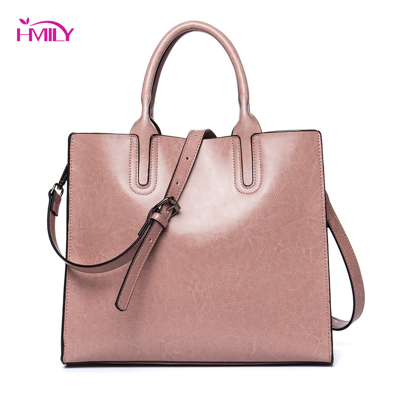 HMILY Women Handbag Genuine Leather Female Shoulder Bag Super Light Daily Crossbody Bag Classic Style Socialite Messenger Bag hmily women handbag genuine leather ladies messenger bag women bag natural cowhide daily shoulder bag socialite