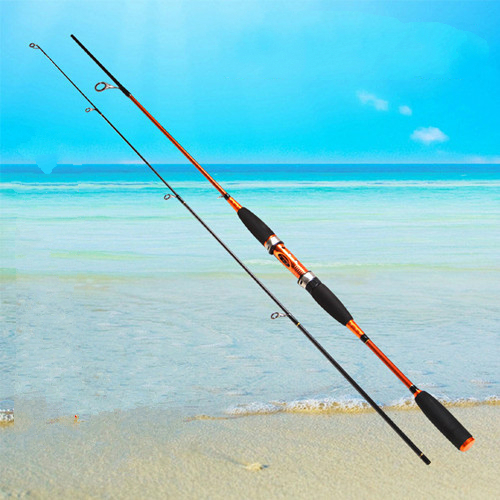 1.8/2.1/2.4m Carbon Hard Fishing Rod Spinning Lure Rod 2 Section Raft Rod Super Hard Fishing Rod Tackle Strong Free Shipping free shipping by eems 2 10m kuying spinning fishing rod sea rod powerful bait casting carbon spining super hard fishing lure rod