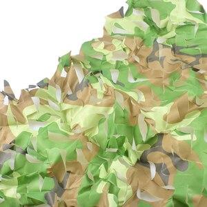 Image 5 - Kostenloser Versand Camouflage Net Camo 2*3M Sun Shelter Dschungel Jalousien Auto abdeckungen Für Jagd Camping Militär outdoor