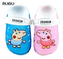 2018 baby girls boys slippers children pvc rubber cartoon captain america  kids home sandal shower shoes