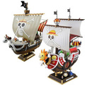 Anime One Piece 28CM Thousand Sunny Pirate ship Model PVC Action Figure Collectible Brinquedos Model Toy