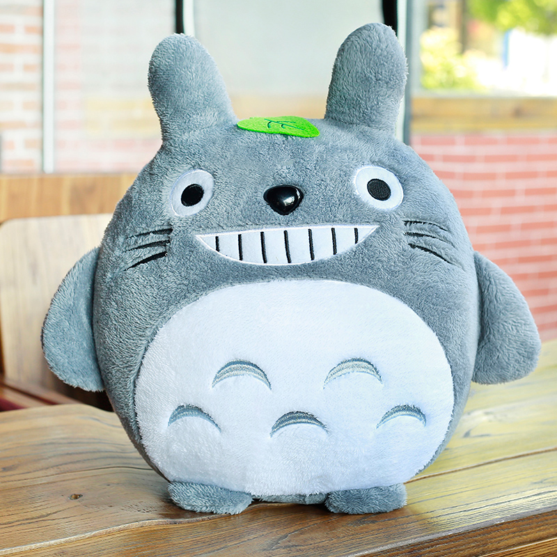 1pc 20cm My Neighbor Totoro Plush Toy Kawaii Stuffed Animal Toy Anime Totoro Kids Doll Children Soft Cartoon Toy Gift free shipping about 60cm cartoon totoro plush toy dark grey totoro doll throw pillow christmas gift w4704