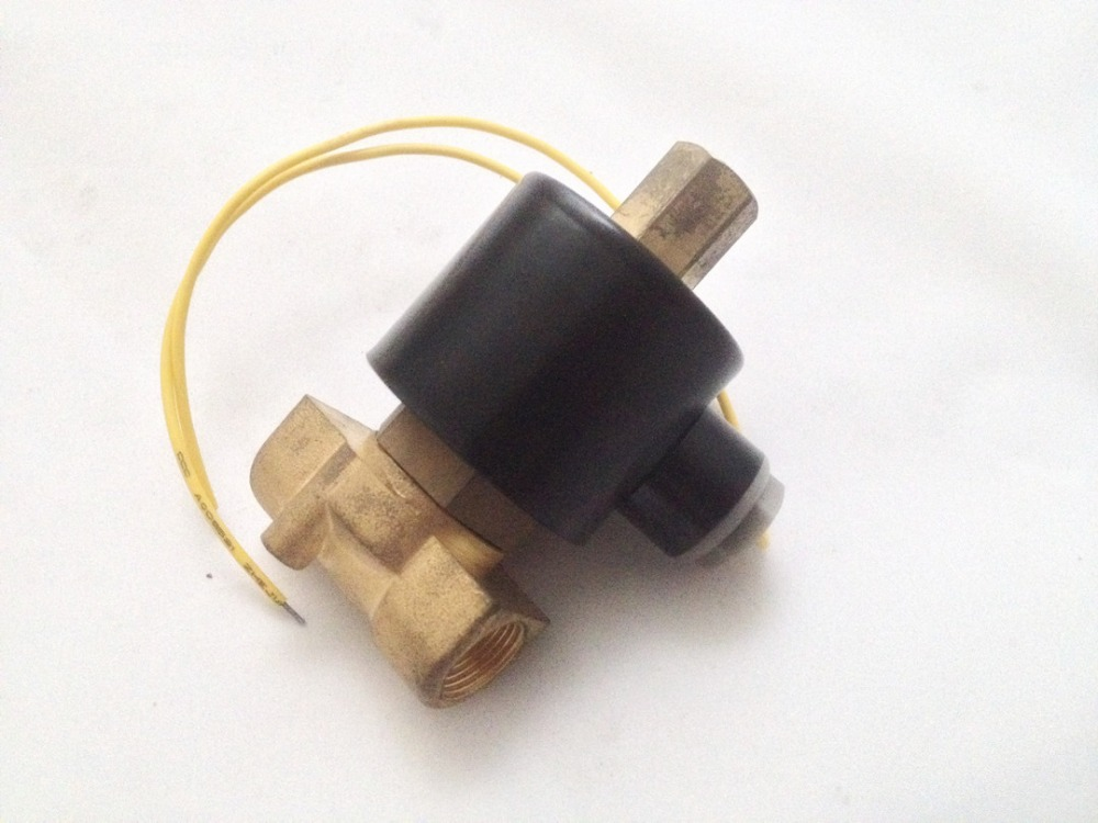 3/8 Normally Open Type Electric Solenoid Valve Water Air N/O DC12V,DC24V or AC110V AC220V 3 8 electric solenoid valve water air n c all brass valve body 2w040 10 dc12v ac110v