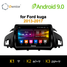 Ownice K1 K2 K3 Android 9.0 Otto 8 Core Auto radio player GPS navi dvd per Ford Kuga 2013- 2017 2 GB di RAM Supporto 4G SIM Card