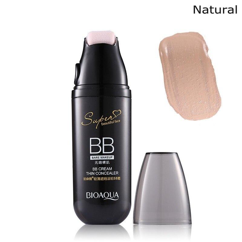 BIOAQUA Air Cushion BB крем-консилер увлажняющий тональный крем для макияжа Голый отбеливающий Макияж для лица корейская косметика - Цвет: Natural