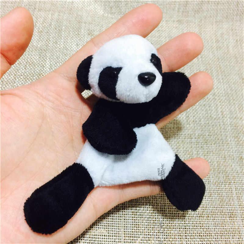 1 Pc Cute Suave Panda Plush Imã de geladeira Adesivo Geladeira Desenhos Animados Decalque Lembrança Presente Decoração de Casa Acessórios de Cozinha