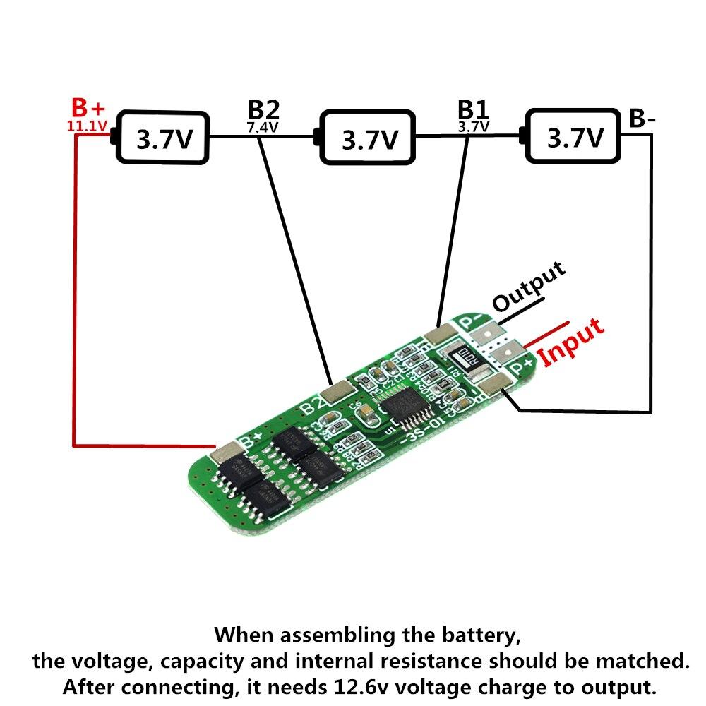 Preiswert Kaufen 3 S 6a Li-ion 12 V 18650 Bms Pcm Batterie Schutz Bord Bms Pcm Für Li-ion Lipo Batterie Zelle Pack Messung Und Analyse Instrumente Werkzeuge