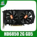 ATI видеокарта HD6850 2 ГБ GDDR5 256Bit графика vga карты