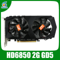 PLACA de vídeo ATI HD6850 2 GB GDDR5 256Bit gráficos vga cards