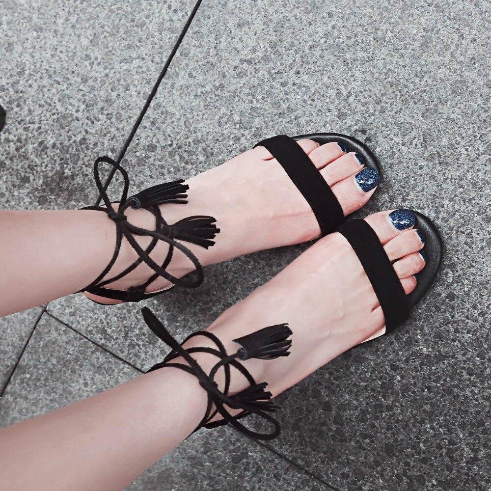 2017 classic brand shoes <font><b>peep</b></font> <font><b>toe</b></font> ankle <font><b>lace</b></font> up <font><b>high</b></font> quality fringe tassel women sandals solid kid <font><b>suede</b></font> superstar <font><b>nude</b></font> shoes 53