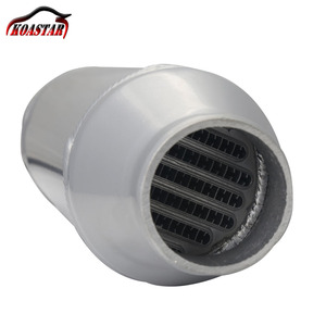 """Image 5 - Universal 290MM Plate Water Liquid To Air Intercooler Barrel Cooler 4""""x6"""" For Supercharger Turbo Car"""