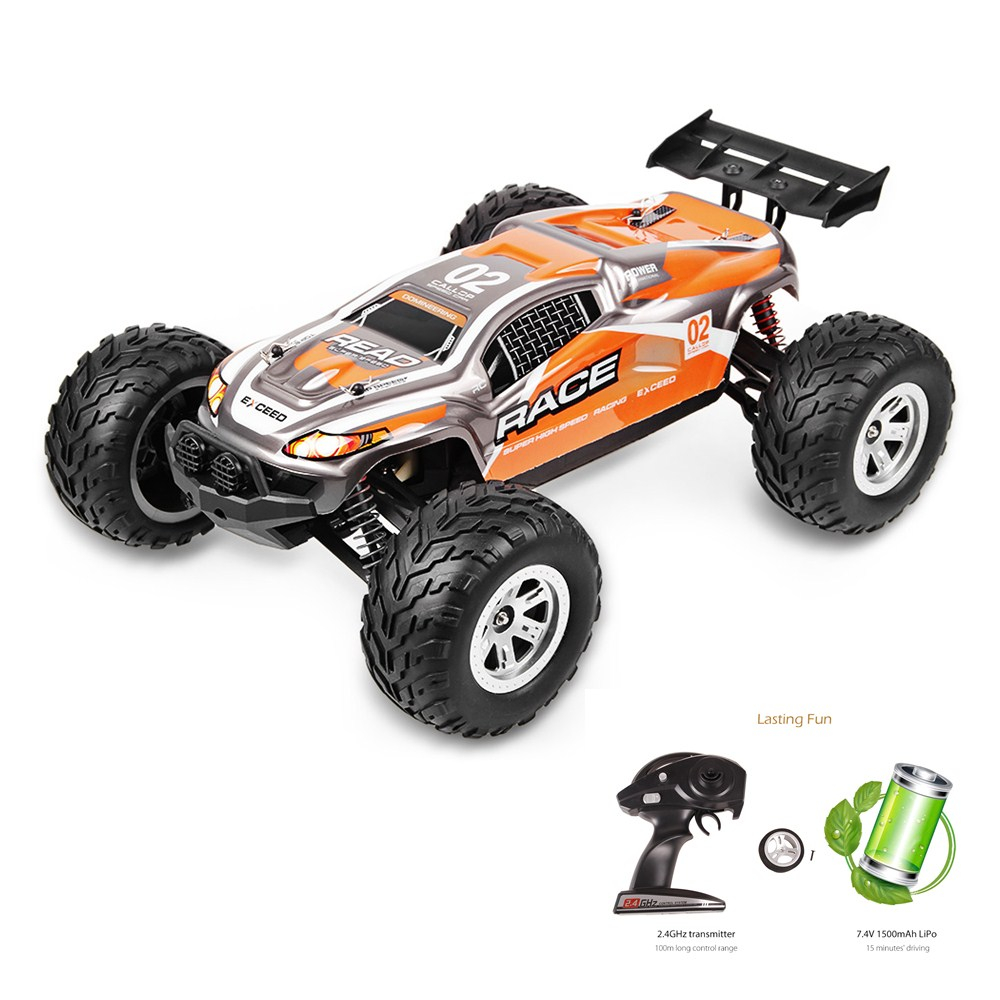 FEIYUE FY - 10 1:12 RC Racing Car Water Land High Speed 40KM/H RTR Amphibious Truck 4WD High-performance Short Course RC Toys