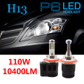 High Power 110W H13 LED Car Headlight Headlamp Replacement Blub Fog Lamp Conversion Kit 6000K White