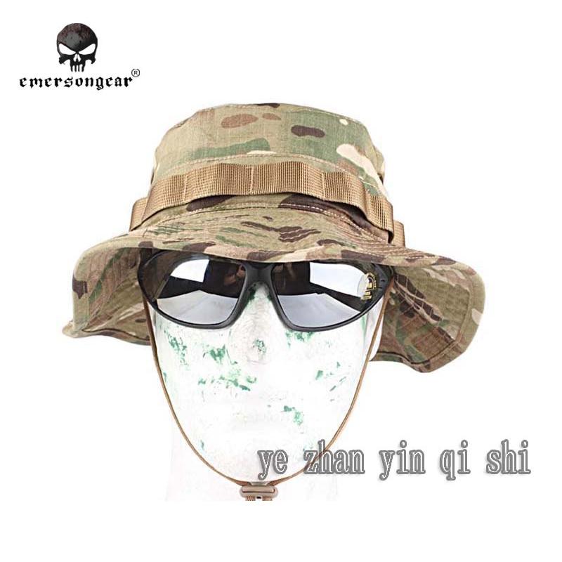 ᑐemersongear Boonie Hat Sniper ᐃ Camouflage Camouflage Hat