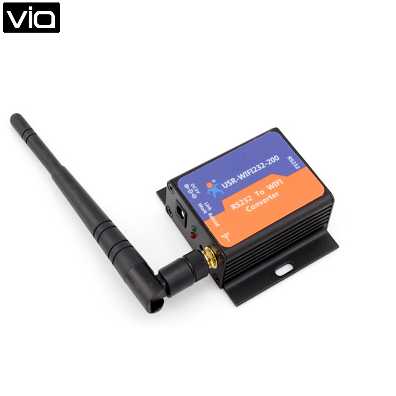 Free Shipping Low Cost RS232 Serial To WIFI Converter simple low cost electronics projects