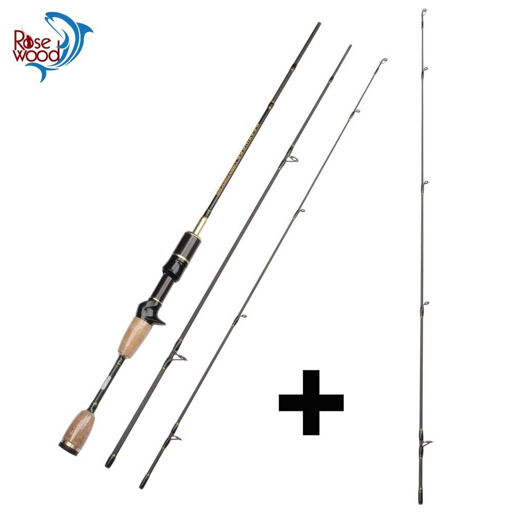 Cheap UL Casting Spinning Fishing Rod 1 8m Ultra Light Carbon Fiber Rods 2 Top Tips