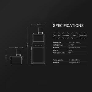 Image 3 - Original Smoant Pasito pod vape 1100mAh Kit Top Adjustable Airflow control 3ml pod DTL/MTL/RBA Coil E Cig VS Lost Vape Orion Kit