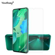 цена 2PCS Glass For Huawei Nova 5 Pro Phone Screen Protector 9H Tempered Glass For Huawei Nova 5 Pro Glass For Huawei Nova 5 Pro Film