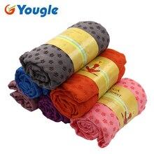 YOUGLE нескользящие Йога коврик полотенце одеяло крышка спорт фитнес-упражнения тренировки Пилатес Лидер продаж