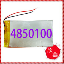 Large capacity lithium polymer lithium battery 3.7V 3000mAh 4850100 tablet computer battery MID Rechargeable Li-ion Cell