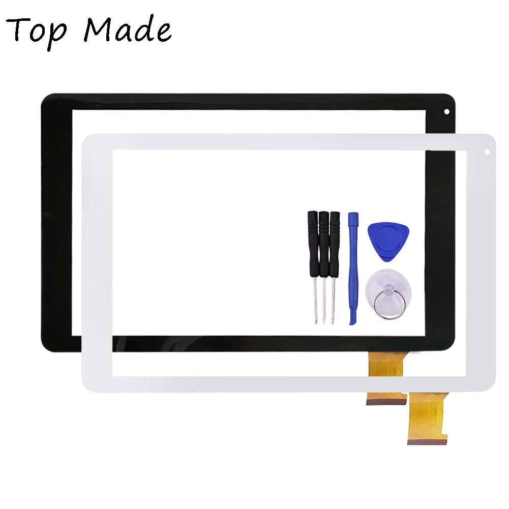10,1 pulgadas para texet tm-1067 FK 10023 V2.0 Tablet PC pantalla táctil digitalizador de reemplazo de reparación de piezas de envío gratis