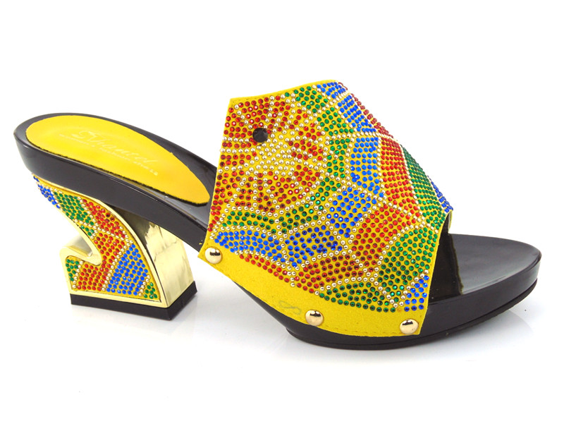 ФОТО Good Selling African Sandals Shoes Free Shipping Woman Heels SHoes Woman yellow For Wedding 37-43!!!HDD1-28