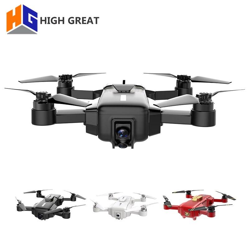ALTA GRANDE MARCHIO 4 K Drone FPV Con 1080 P HD della Macchina Fotografica di GPS di Posizionamento VIO Smart Giunto Cardanico Della Macchina Fotografica Telaio Pieghevole RC drohne VS Spark