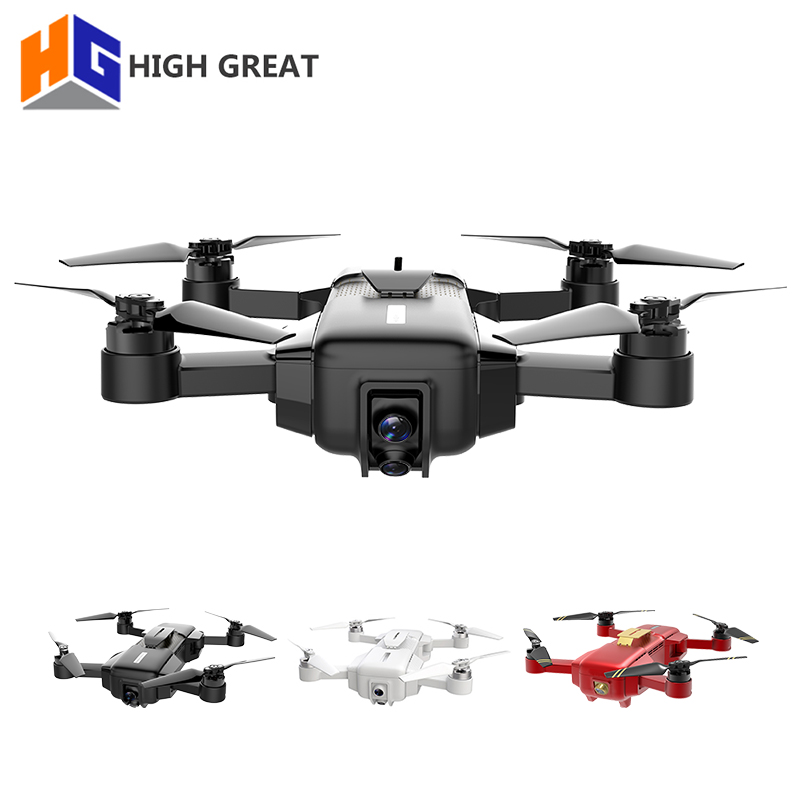 HAUTE GRANDE MARQUE 4 K Drone FPV Avec 1080 P HD Caméra GPS VIO Positionnement Intelligent caméra à support Cadre Pliable RC drohne VS Spark