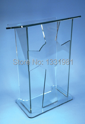 Free Shipping Hot Sell Cheap Acrylic Lectern / Plexiglass Pulpit / Perspex Rostrum Church Acrylic Pulpits