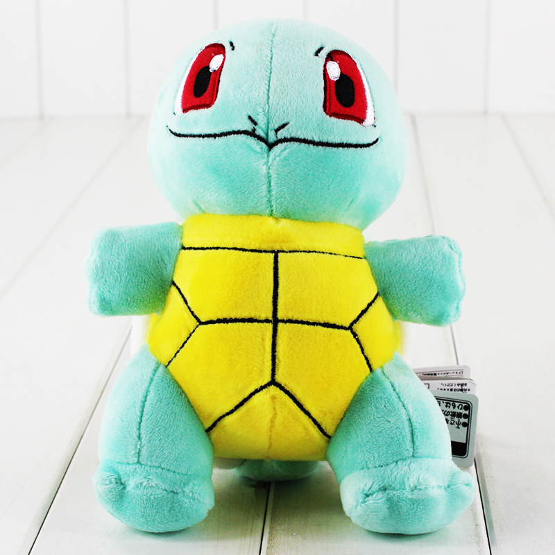 18cm New Arrival Squirtle Plush Toy Anime Cute Mini Turtle Squirtle Stuffed Toy Doll For Birthday
