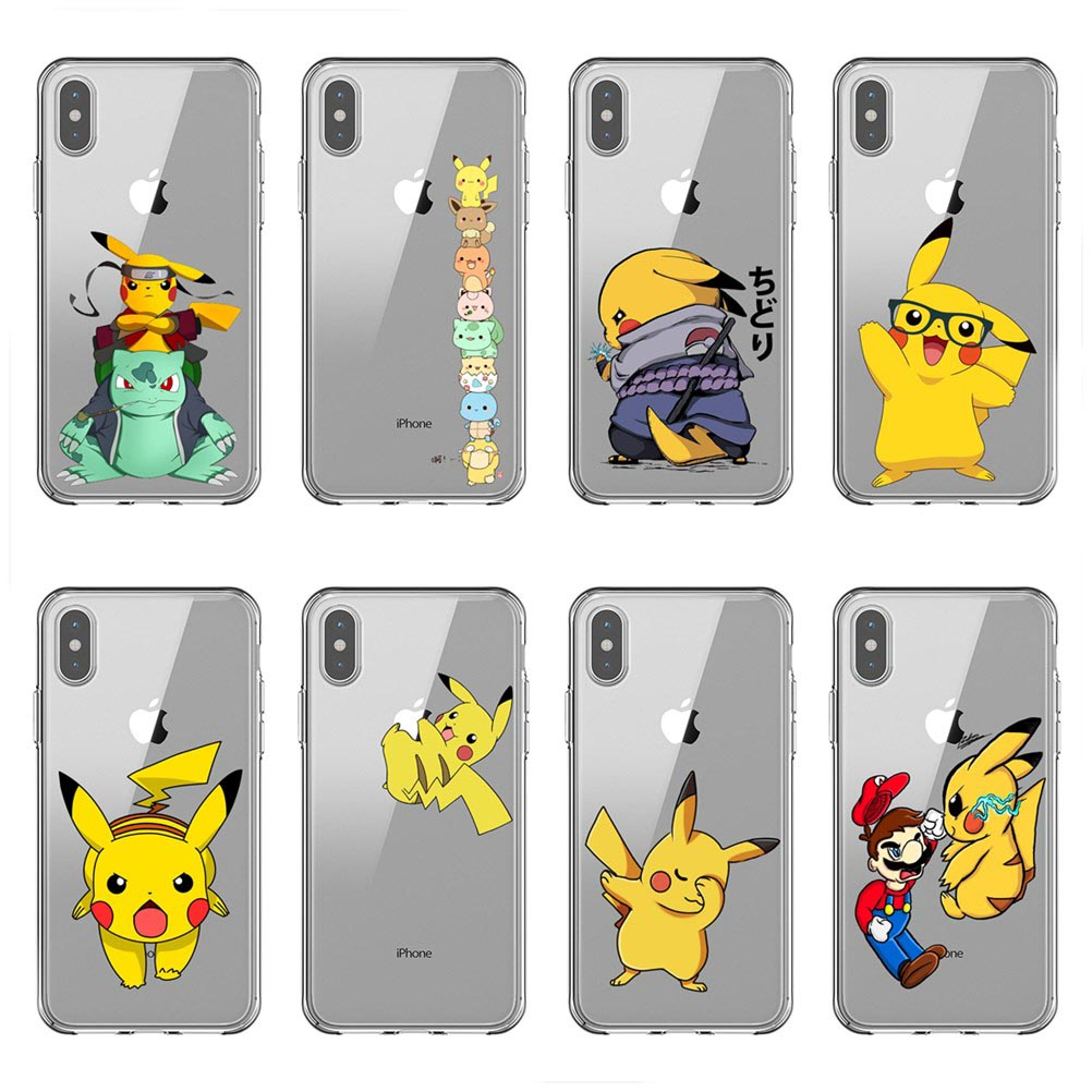 Tpu Phone Case Cover(pokemon Coloring
