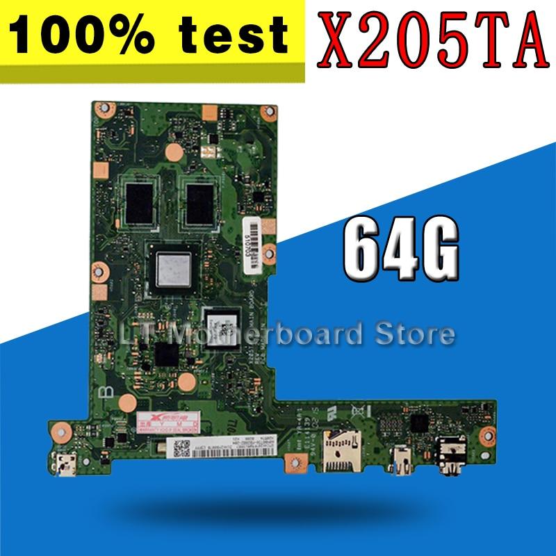 X205TA Motherboard 64G For ASUS X205TA X205TAW Laptop motherboard X205TA Mainboard X205TA Motherboard test 100% OKX205TA Motherboard 64G For ASUS X205TA X205TAW Laptop motherboard X205TA Mainboard X205TA Motherboard test 100% OK
