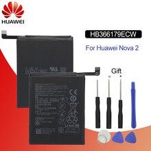 Hua Wei Original Telefon Batterie HB366179ECW für Huawei Nova 2 CAZ AL10 CAZ TL00 2950 mAh Batterie